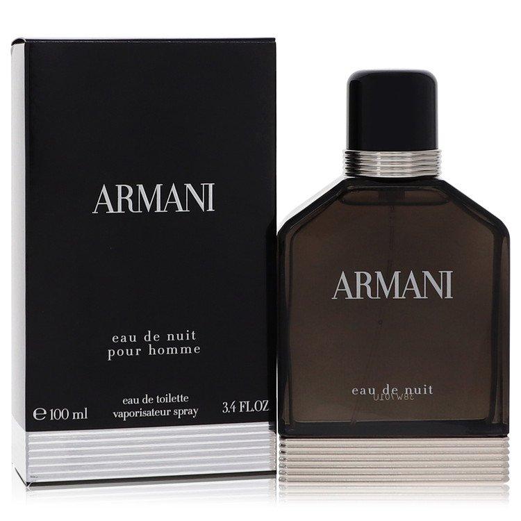 Armani Eau De Nuit by Giorgio Armani for Men Eau De Toilette Spray 3.4 oz