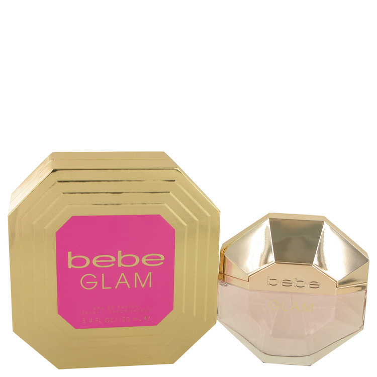 Bebe Glam by Bebe for Women Eau De Parfum Spray 3.4 oz