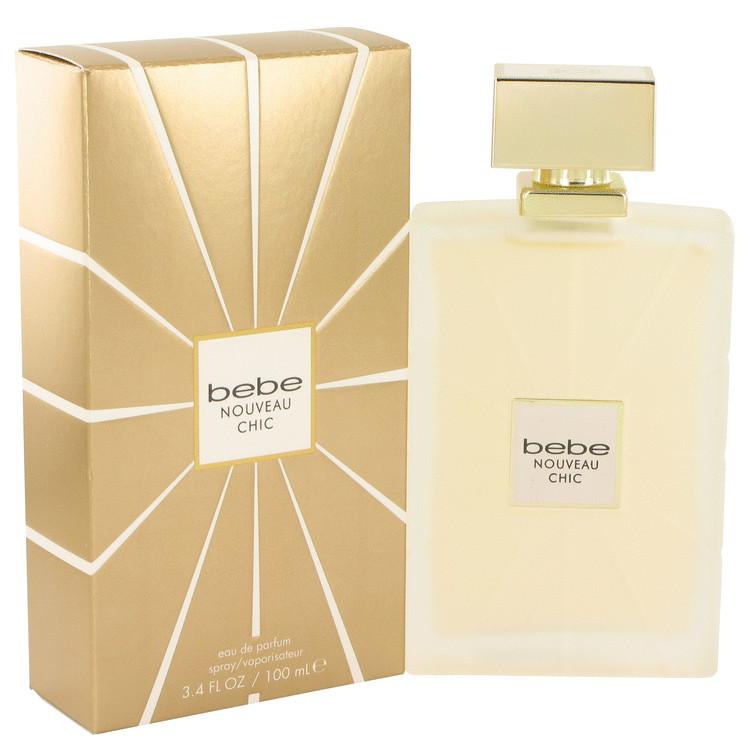 Bebe Nouveau Chic by Bebe for Women Eau De Parfum Spray 3.4 oz