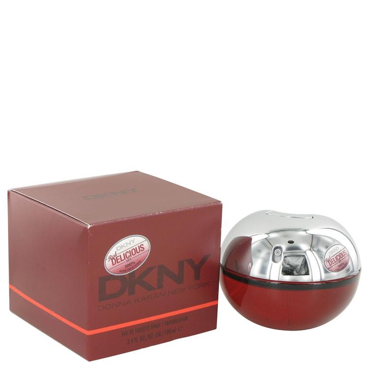 Red Delicious by Donna Karan for Men Eau De Toilette Spray 3.4 oz