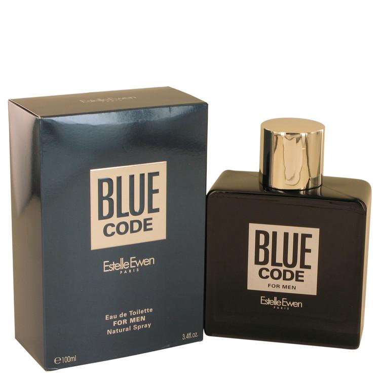 Blue Code by Estelle Ewen for Men Eau De Toilette Spray 3.4 oz