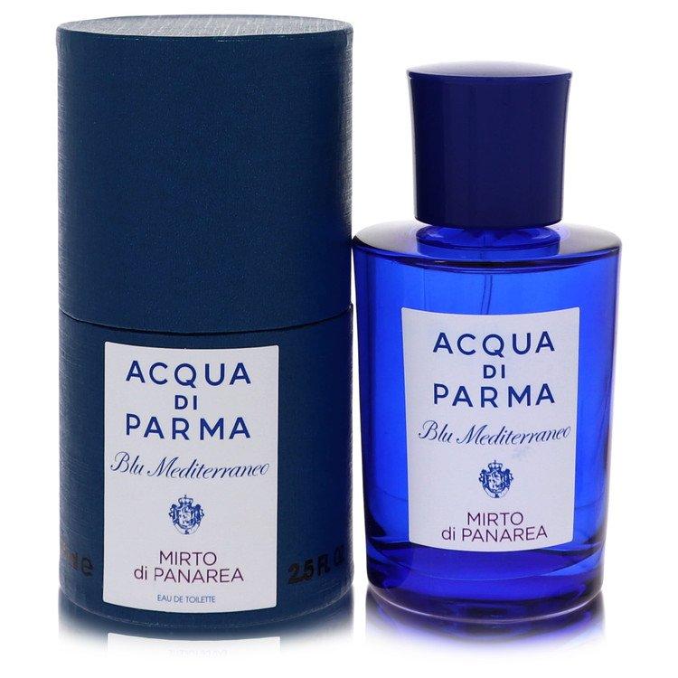 Blu Mediterraneo Mirto Di Panarea by Acqua Di Parma for Women Eau De Toilette Spray (Unisex) 2.5 oz