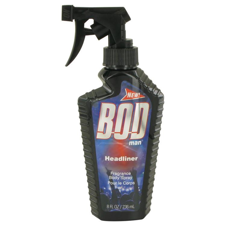 Bod Man Headliner by Parfums De Coeur for Men Body Spray 8 oz