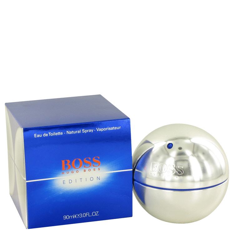 Boss In Motion Electric by Hugo Boss for Men Eau De Toilette Spray 3 oz