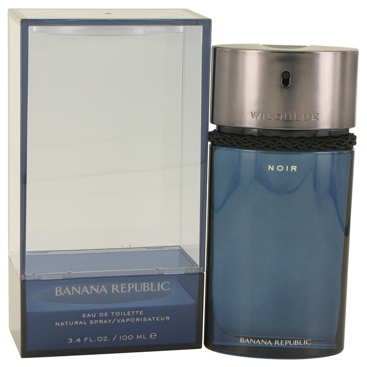 Banana Republic Wildblue Noir by Banana Republic for Men Eau De Toilette Spray 3.4 oz