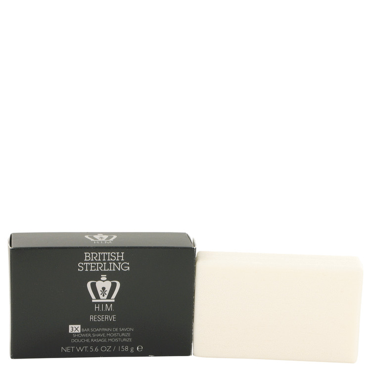 British Sterling Him Private Stock by Dana for Men Shower and Shave Soap 5.6 oz