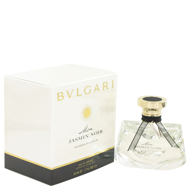 Mon Jasmin Noir by Bvlgari for Women Eau De Parfum Spray 1.7 oz