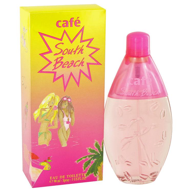 Cafe Southbeach by Cofinluxe for Women Eau De Toilette Spray 3.4 oz