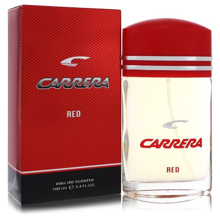 Carrera Red by Vapro International for Men Eau De Toilette Spray 3.4 oz