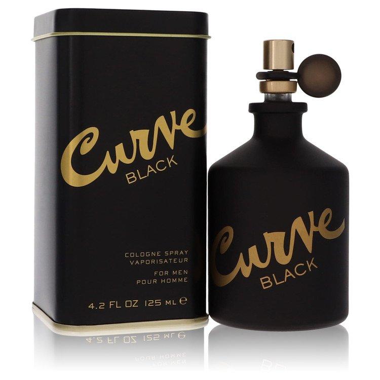 Curve Black by Liz Claiborne for Men Cologne Spray 4.2 oz