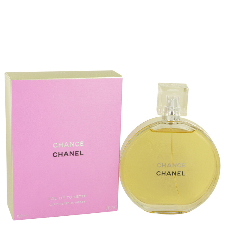 Chance by Chanel for Women Eau De Toilette Spray 5 oz