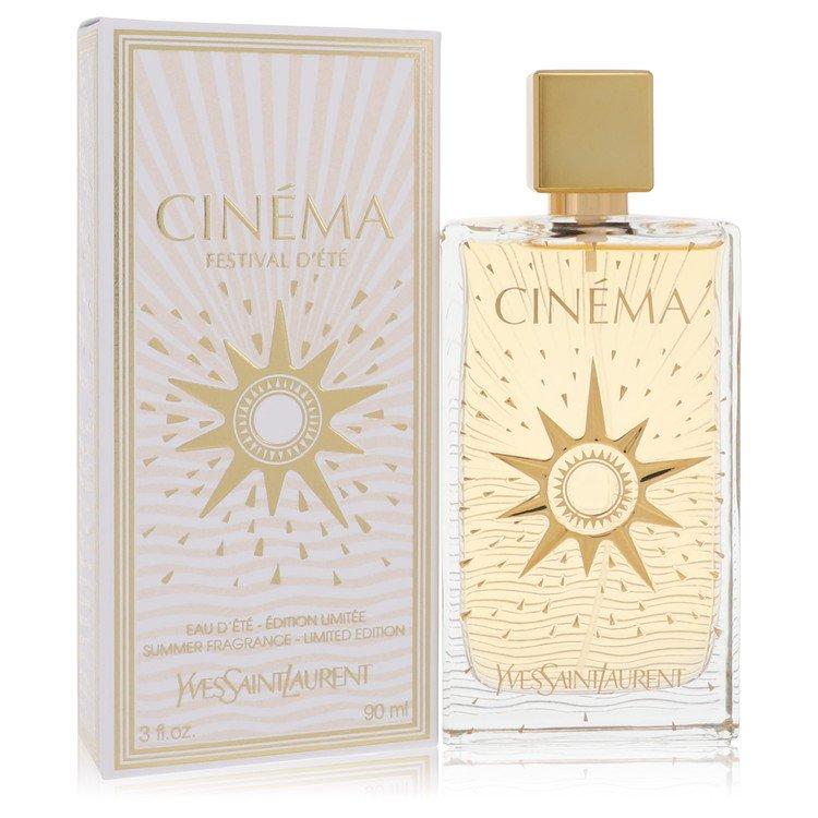 Cinema by Yves Saint Laurent for Women Summer Fragrance Eau D'Ete Spray 3 oz