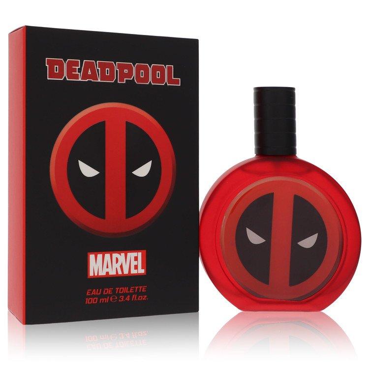 Deadpool by Marvel for Men Eau De Toilette Spray 3.4 oz