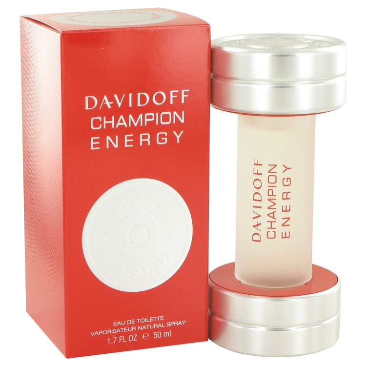 Davidoff Champion Energy by Davidoff for Men Eau De Toilette Spray 1.7 oz
