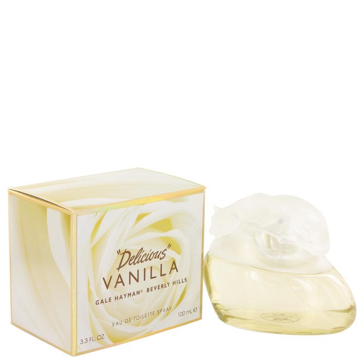 Delicious Vanilla by Gale Hayman for Women Eau De Toilette Spray 3.3 oz