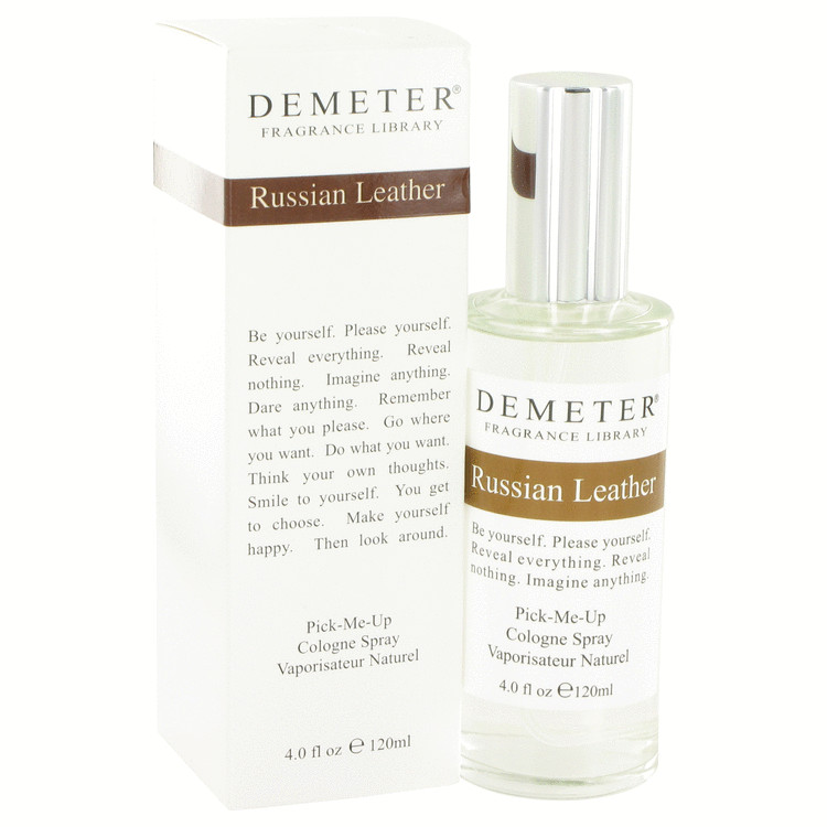 Demeter by Demeter for Women Russian Leather Cologne Spray 4 oz