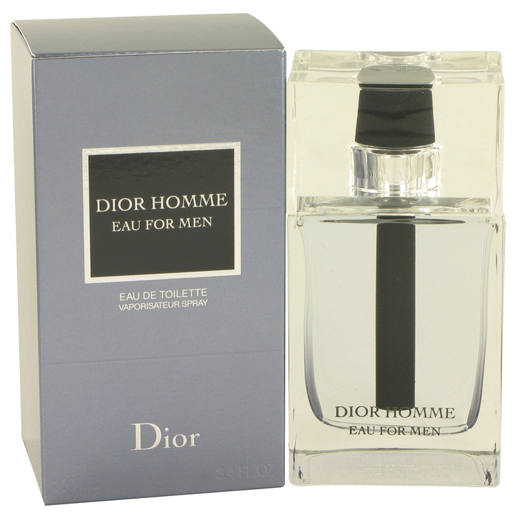 Dior Homme Eau by Christian Dior for Men Eau De Toilette Spray 3.4 oz