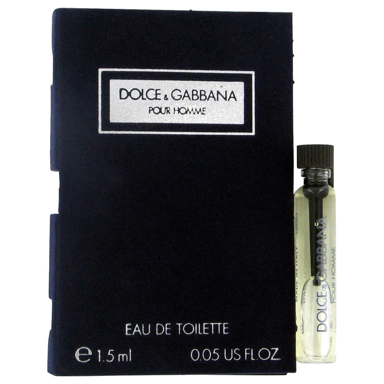 DOLCE & GABBANA by Dolce & Gabbana for Men Vial (sample) .06 oz