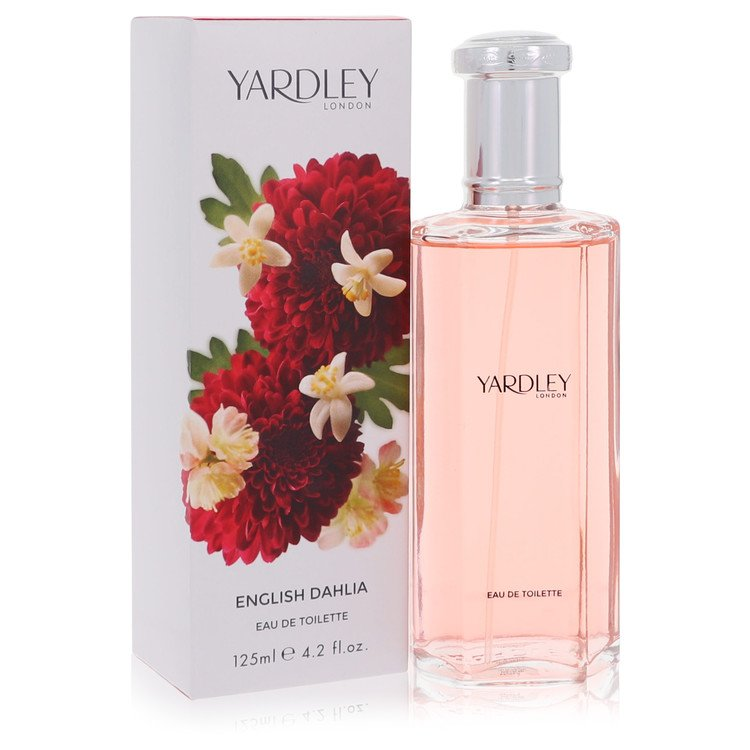 English Dahlia by Yardley for Women Eau De Toilette Spray 4.2 oz