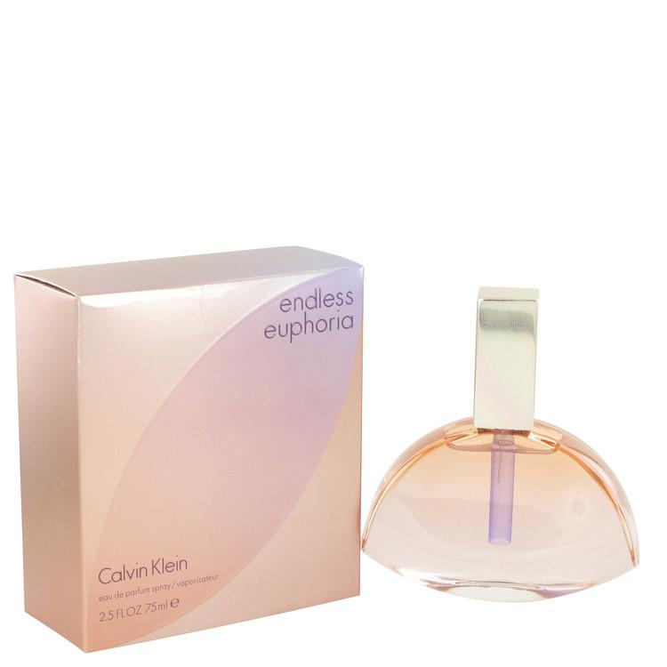 Endless Euphoria by Calvin Klein for Women Eau De Parfum Spray 2.5 oz