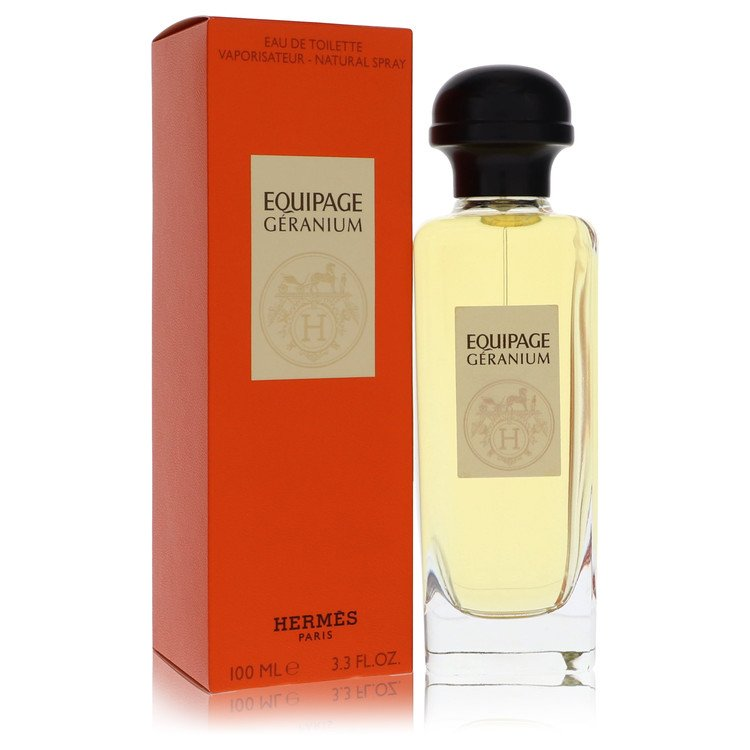 Equipage Geranium by Hermes for Women Eau De Toilette Spray 3.3 oz