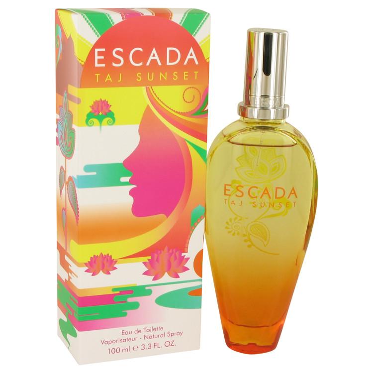 Escada Taj Sunset by Escada for Women Eau De Toilette Spray 3.3 oz
