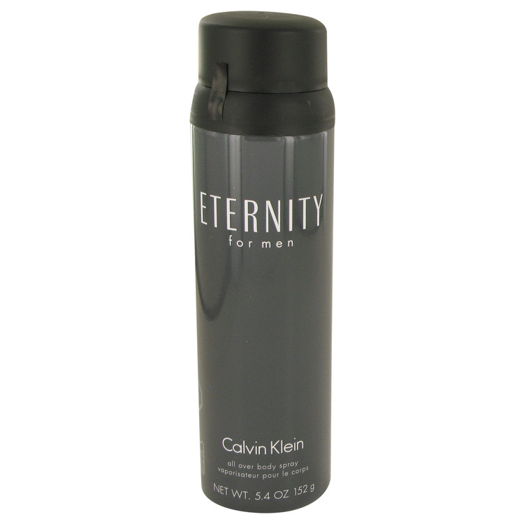 ETERNITY by Calvin Klein for Men Body Spray 5.4 oz