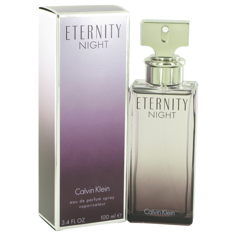 Eternity Night by Calvin Klein for Women Eau De Parfum Spray (Limited Edition) 3.4 oz