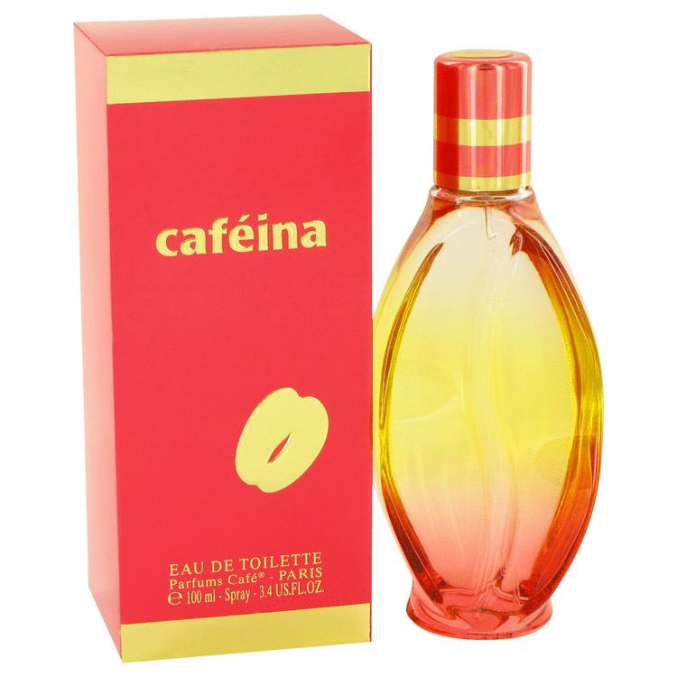 Cafe Cafeina by Cofinluxe for Women Eau De Toilette Spray 3.4 oz