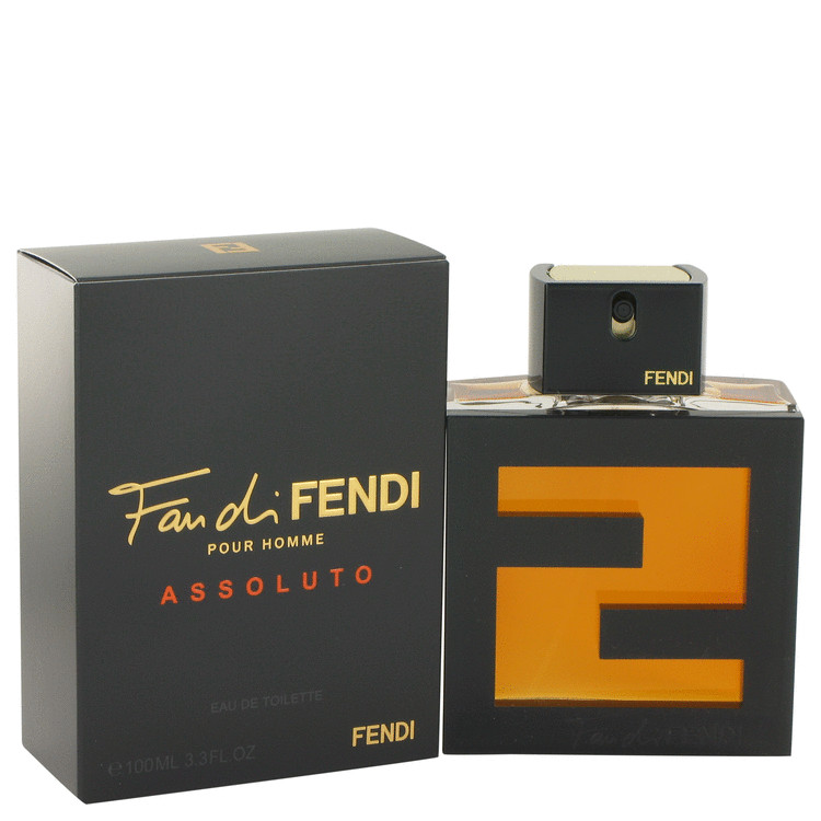 Fan Di Fendi Assoluto by Fendi for Men Eau De Toilette Spray 3.3 oz