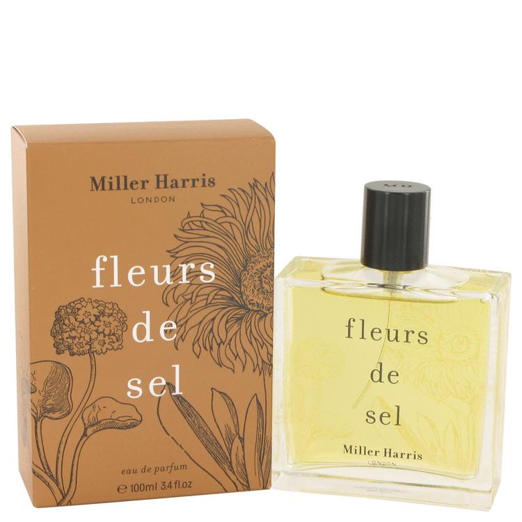 Fleurs De Sel by Miller Harris for Women Eau De Parfum Spray 3.4 oz