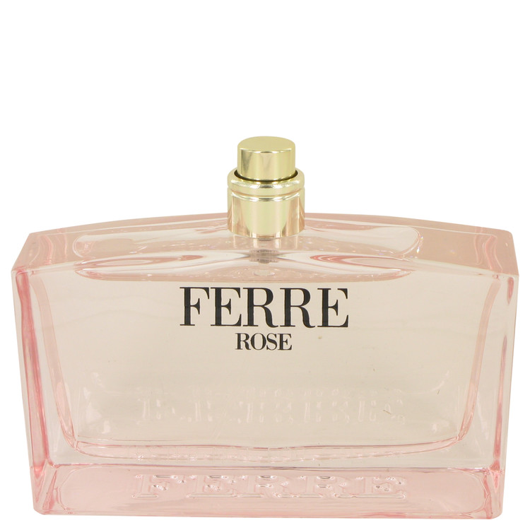 Ferre Rose by Gianfranco Ferre for Women Eau De Toilette Spray (Tester) 3.4 oz