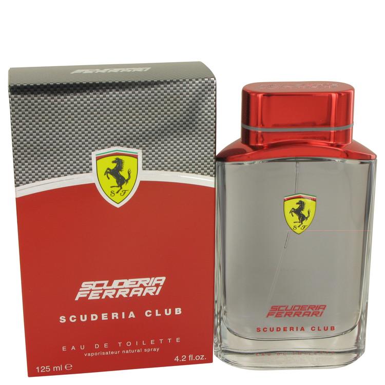 Ferrari Scuderia Club by Ferrari for Men Eau De Toilette Spray 4.2 oz
