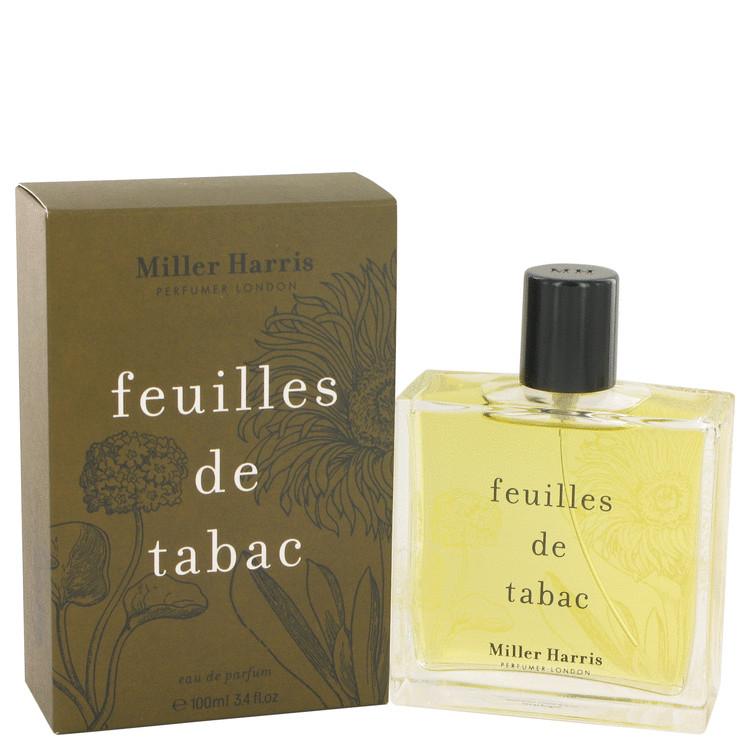 Feuilles De Tabac by Miller Harris for Women Eau De Parfum Spray 3.4 oz