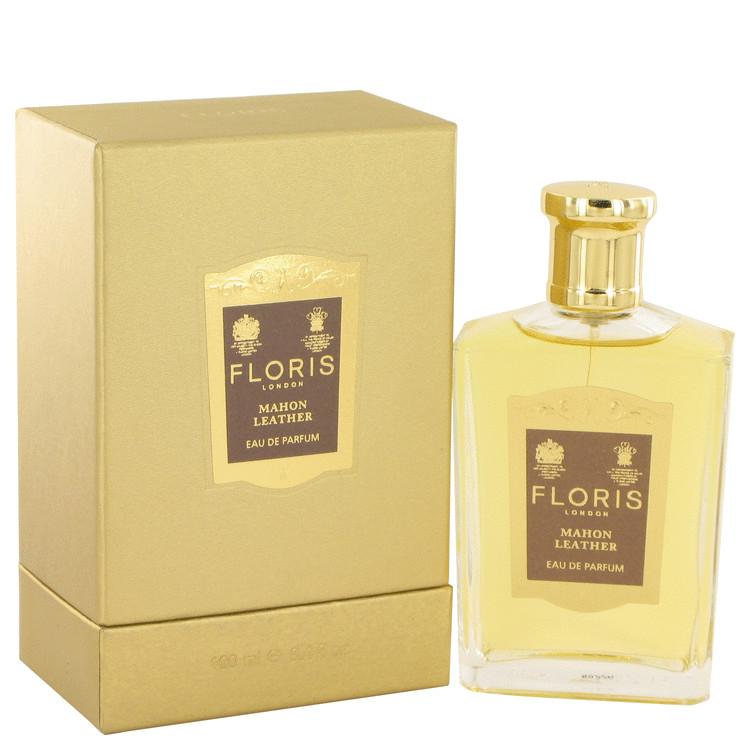 Floris Mahon Leather by Floris for Women Eau De Parfum Spray 3.4 oz