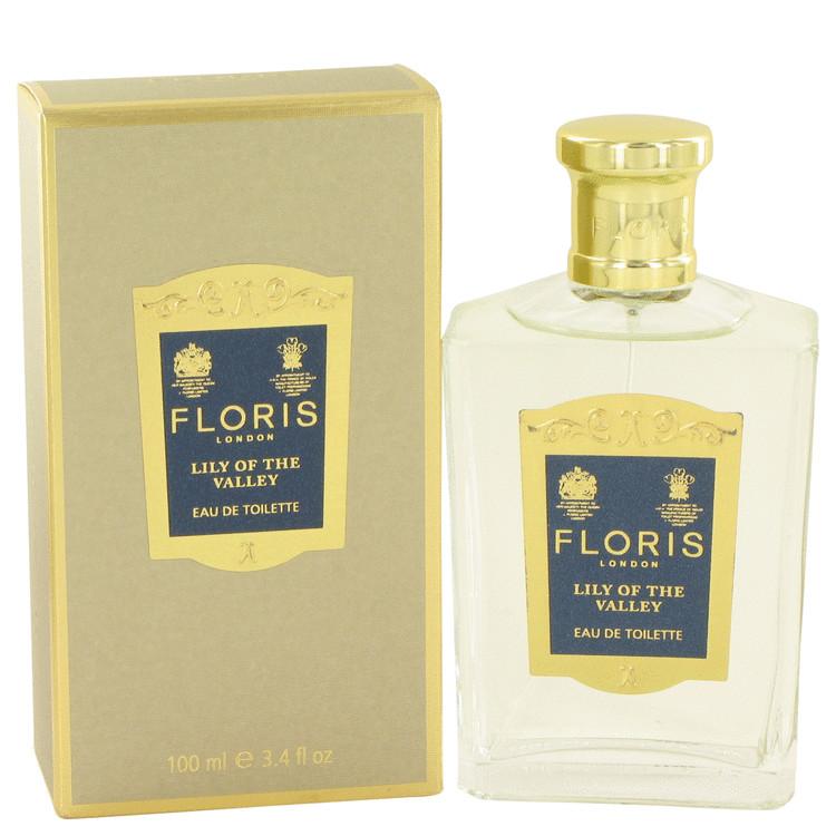 Floris Lily of The Valley by Floris for Women Eau De Toilette Spray 3.4 oz