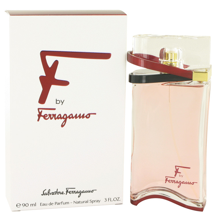 F by Salvatore Ferragamo for Women Eau De Parfum Spray 3 oz