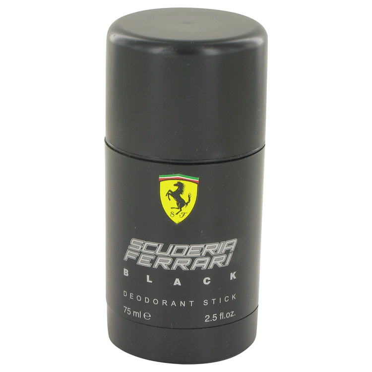 Ferrari Scuderia Black by Ferrari for Men Deodorant Stick 2.5 oz