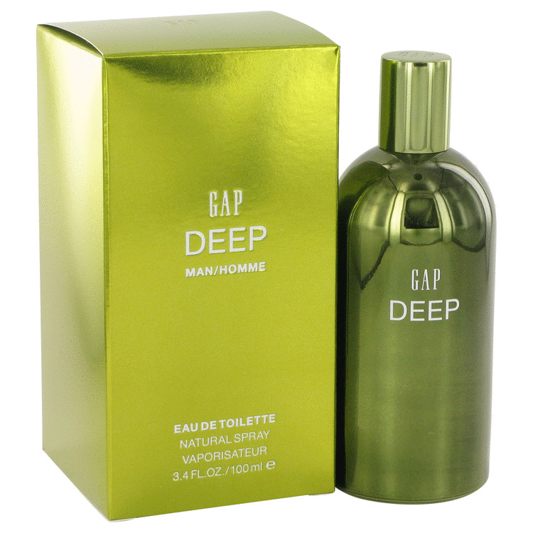 Gap Deep by Gap for Men Eau De Toilette Spray 3.4 oz