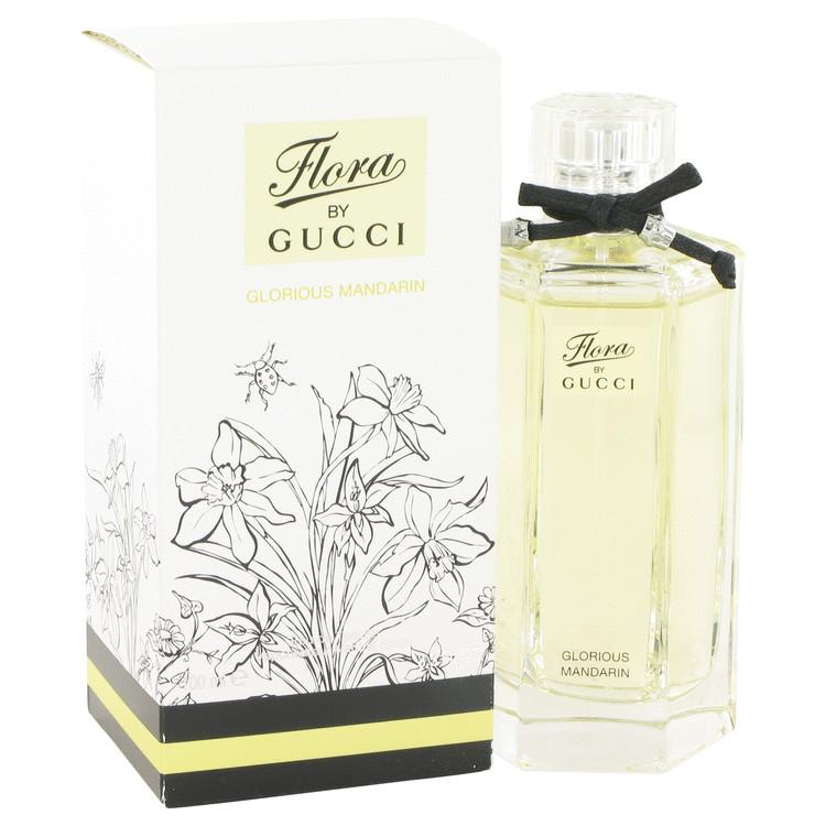 Flora Glorious Mandarin by Gucci for Women Eau De Toilette Spray 3.4 oz