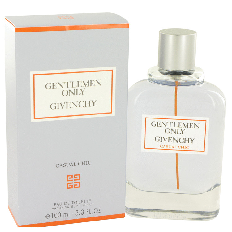 Gentlemen Only Casual Chic by Givenchy for Men Eau De Toilette Spray 3.3 oz