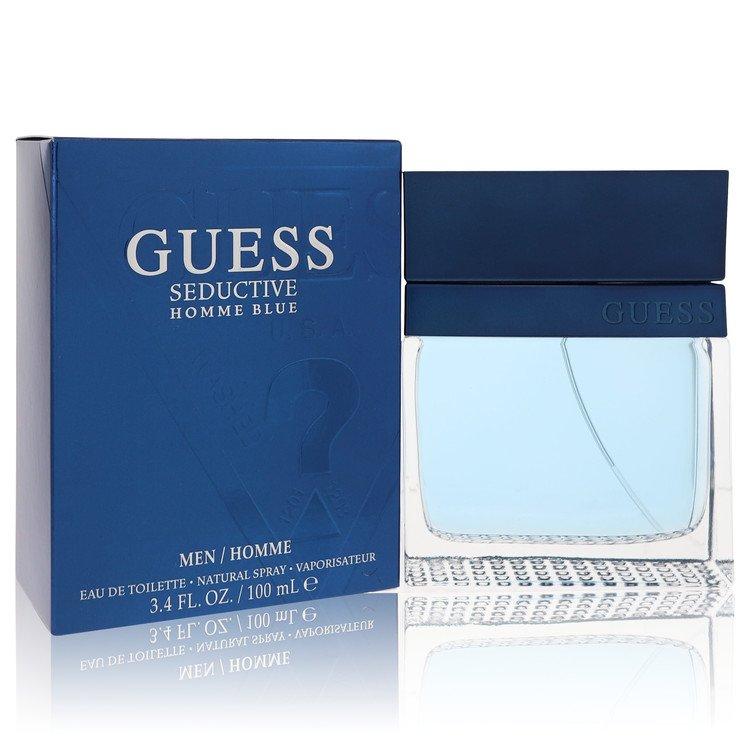 Guess Seductive Homme Blue by Guess for Men Eau De Toilette Spray 3.4 oz