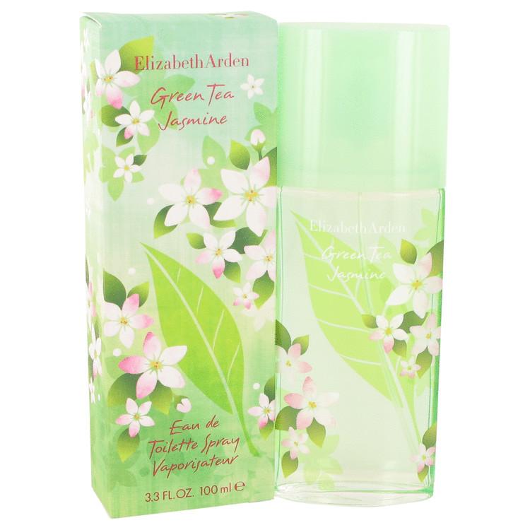 Green Tea Jasmine by Elizabeth Arden for Women Eau De Toilette Spray 3.4 oz