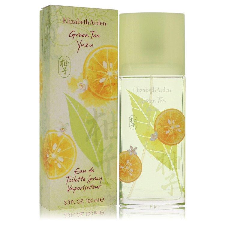 Green Tea Yuzu by Elizabeth Arden for Women Eau De Toilette Spray 3.4 oz