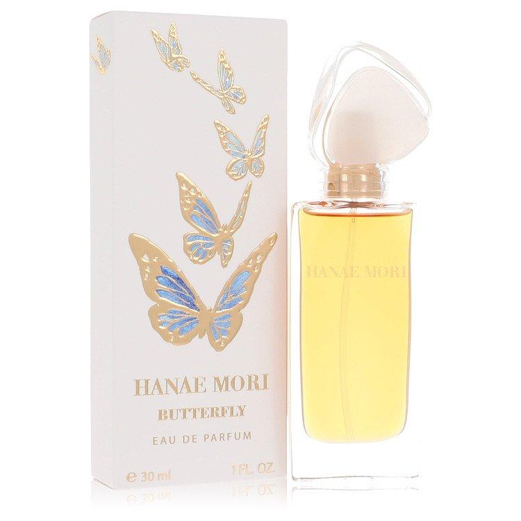 HANAE MORI by Hanae Mori for Women Eau De Parfum Spray (Blue Butterfly) 1 oz