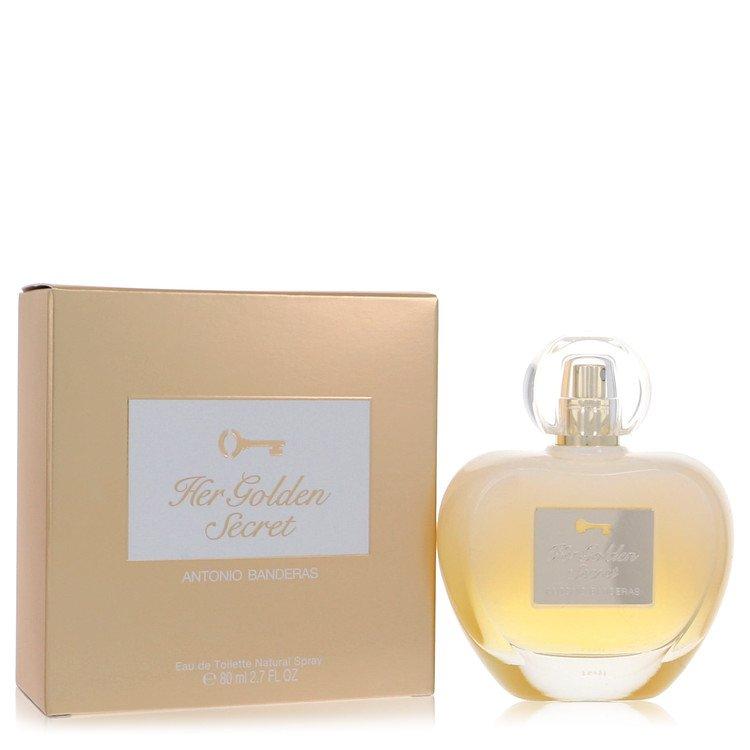 Her Golden Secret by Antonio Banderas for Women Eau De Toilette Spray 2.7 oz