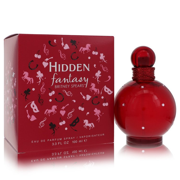 Hidden Fantasy by Britney Spears for Women Eau De Parfum Spray 3.4 oz