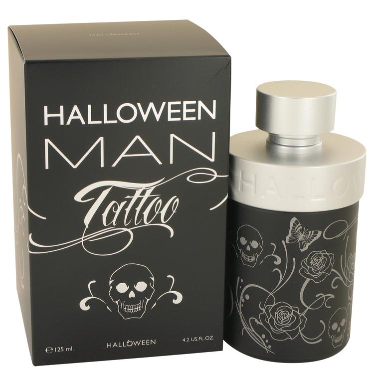 Halloween Man Tattoo by Jesus Del Pozo for Men Eau De Toilette Spray 4.2 oz
