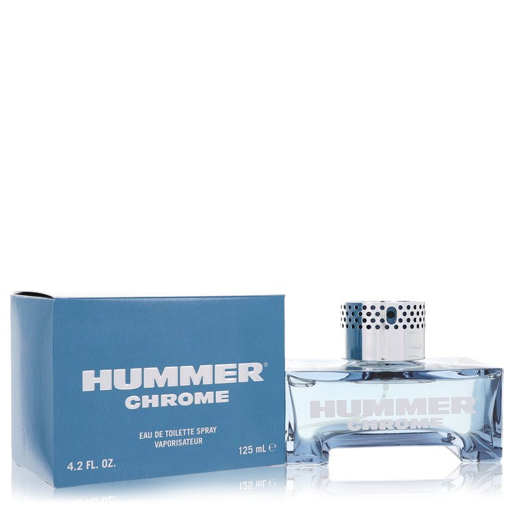 Hummer Chrome by Hummer for Men Eau De Toilette Spray 4.2 oz