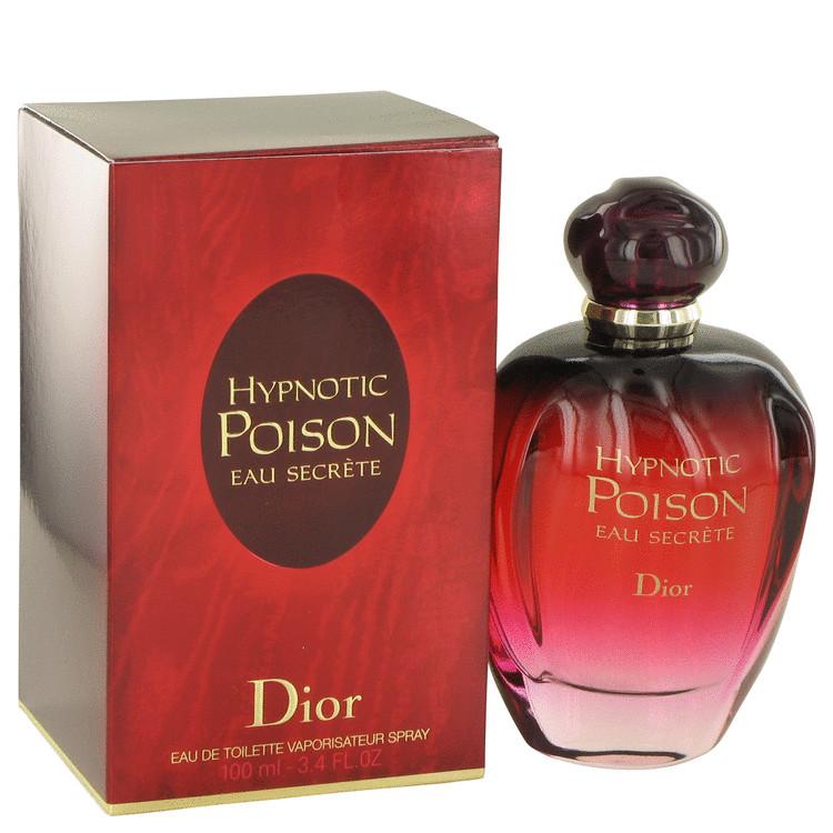 Hypnotic Poison Eau Secrete by Christian Dior for Women Eau De Toilette Spray 3.4 oz